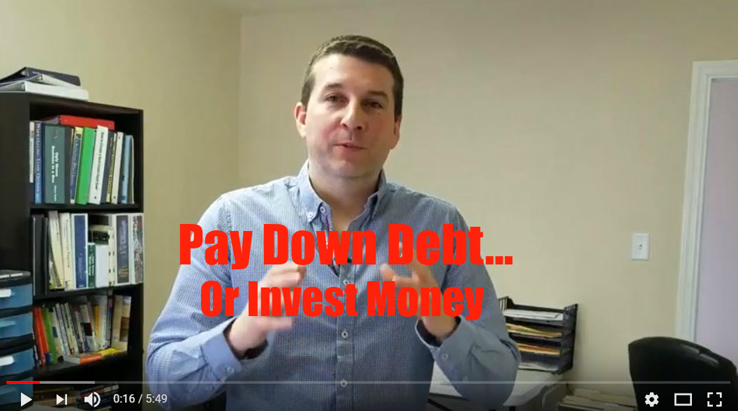 What to Do: Pay Down Debt or Invest Money