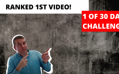 Ranking Youtube Videos – Day 1 of 30 Day Self-Challenge